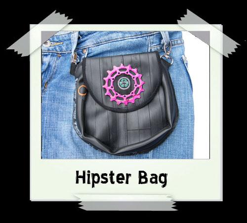 Hipster Bag - Pink Gear
