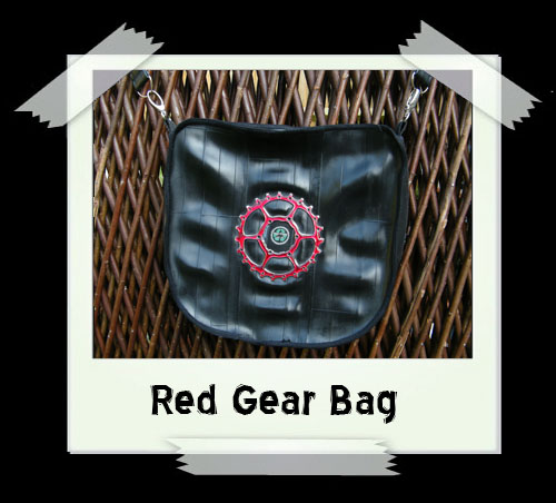 Red Gear Handbag