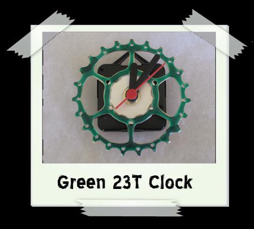 Green 23T Clock