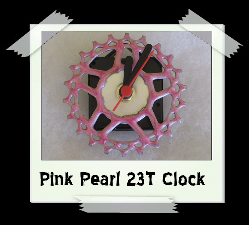 Pearl Pink 23T Clock