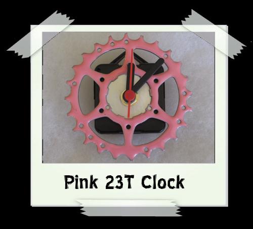 Pink 23T Clock