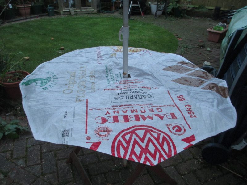 Malt Sack picnic table cover