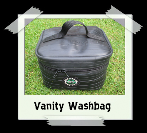 Vanity Wash Bag (cream lining)
