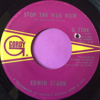 Edwin Starr-Stop the war now-Gordy E+