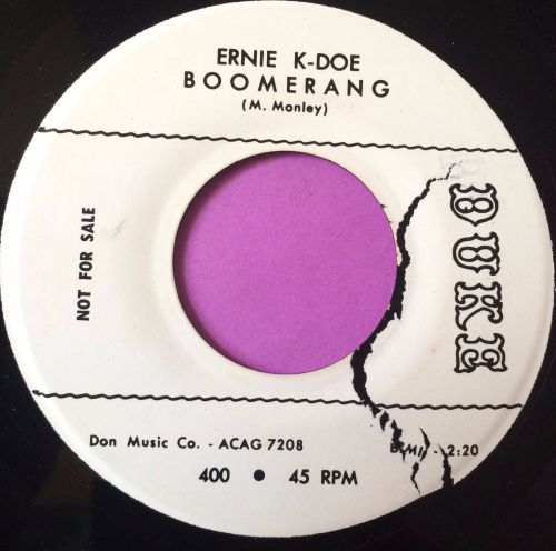 Ernie K-Doe-Boomerang-Duke WD E+