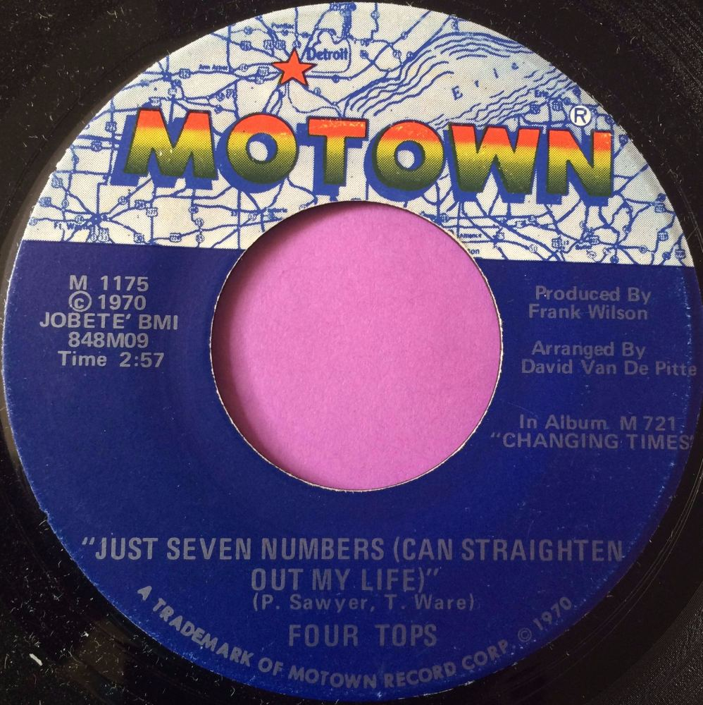 Four Tops-Just seven numbers-Motown E+