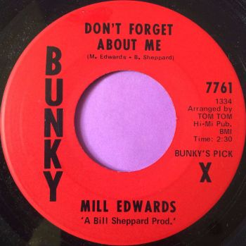 Mill Evans-Don`t forget about me-Bunky E+