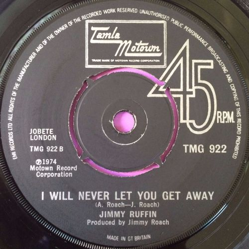 Jimmy Ruffin-I will never let you get away-TMG 922 E