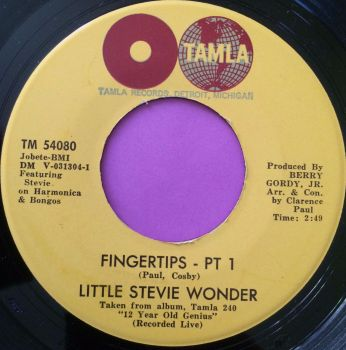 Stevie Wonder-Fingertips pt1-Tamla M-