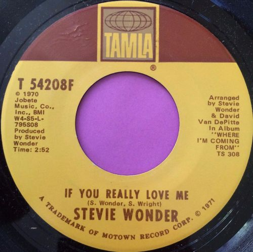 Stevie Wonder-If you really love me-Tamla E+