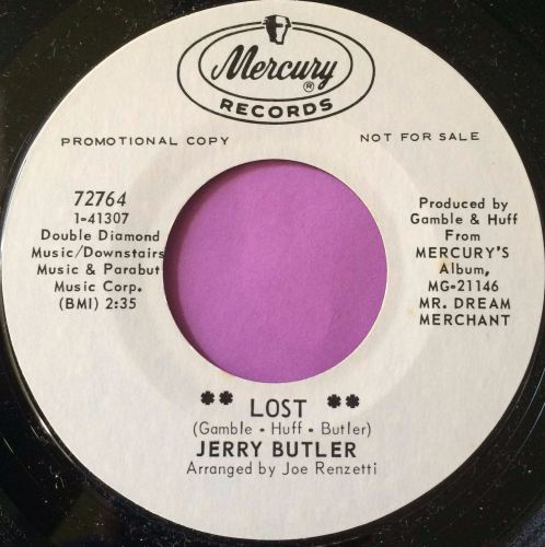 Jerry Butler-Lost-Mercury WD M-