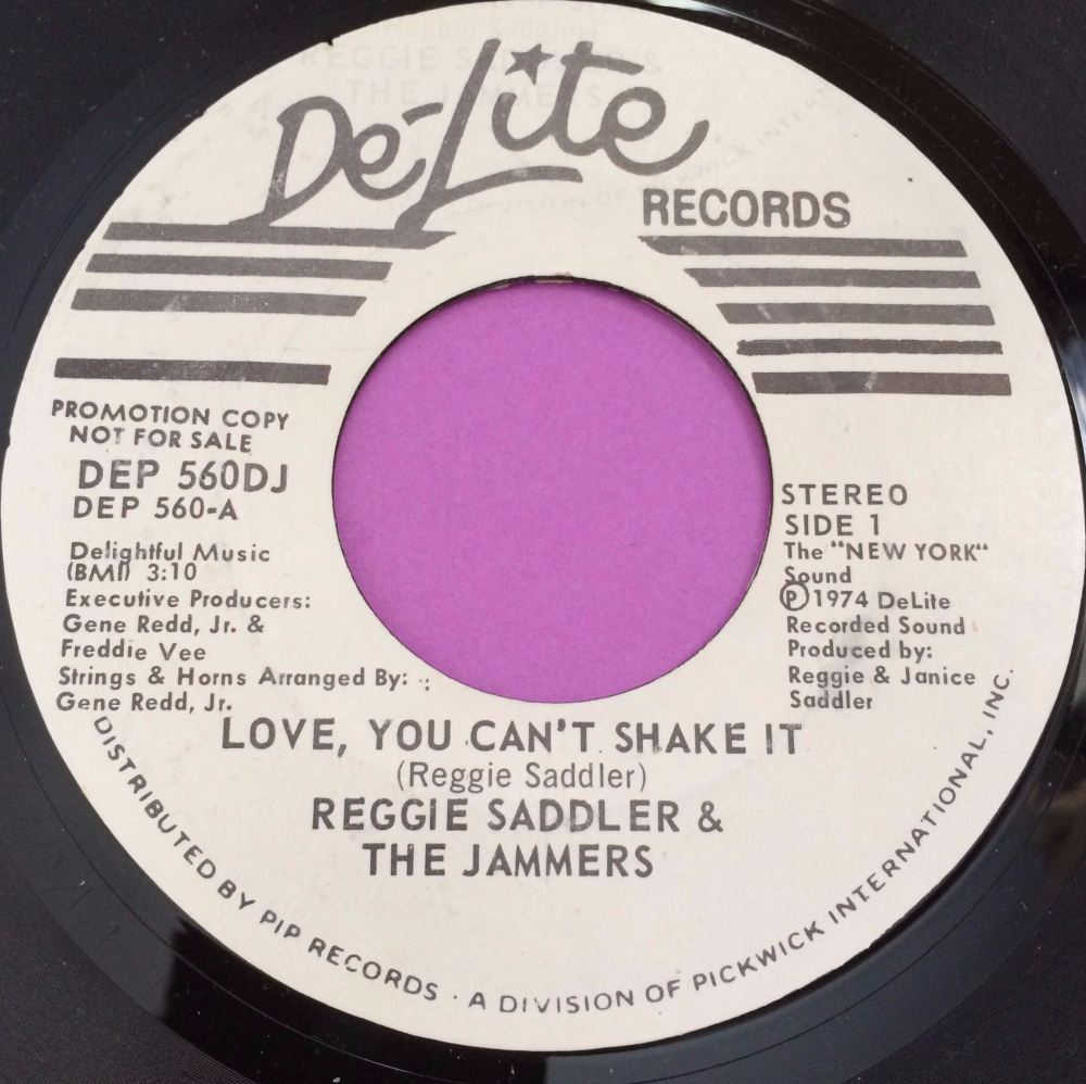 Reggie Saddler-Love you can`t shake it-Delite WD M-