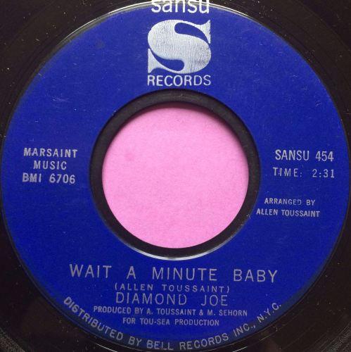 Diamond Joe-Wait a minute baby-Sansu WD M-