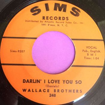 Wallace Brothers-Darlin` I love you-Sims M-