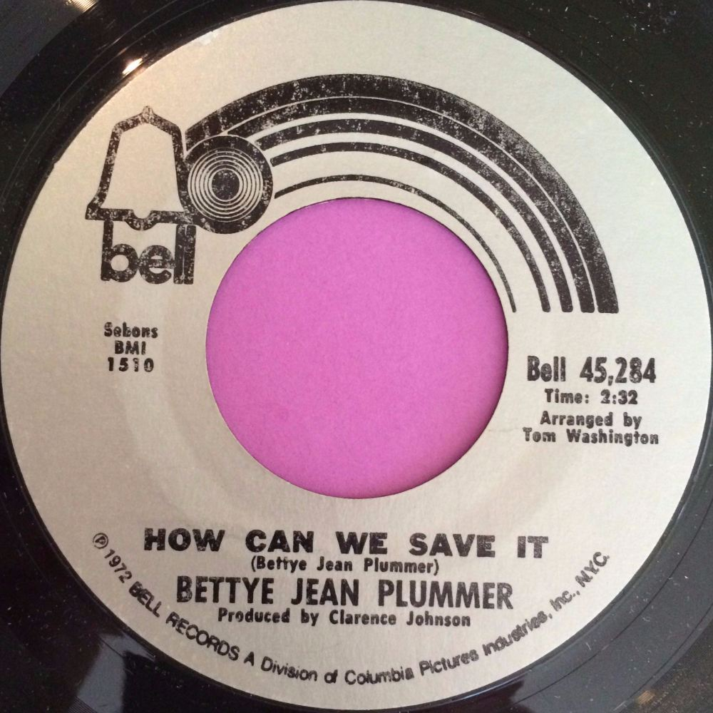 Bettye Jean Plumber-How can we save it-Bell E+