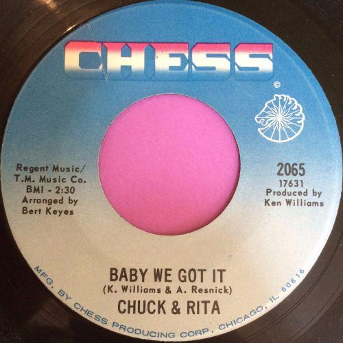 Chuck and Rita-Baby we got it-Chess E