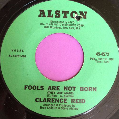 Clarence Reid-Fools are not born-Alston E+