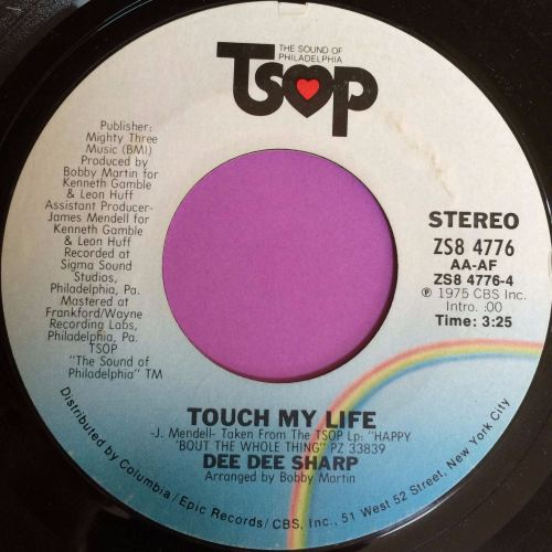 Dee Dee Sharp-Touch my life-TSOP E+