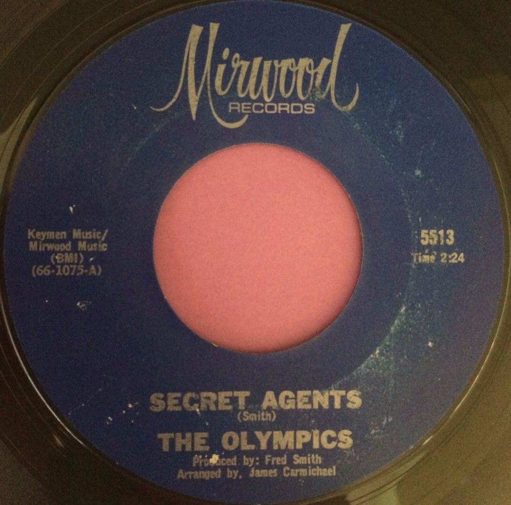 Olympics-Secret agents-Mirwood E