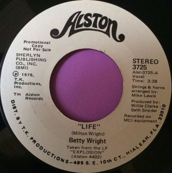 Betty Wright-Life-Alston WD E+