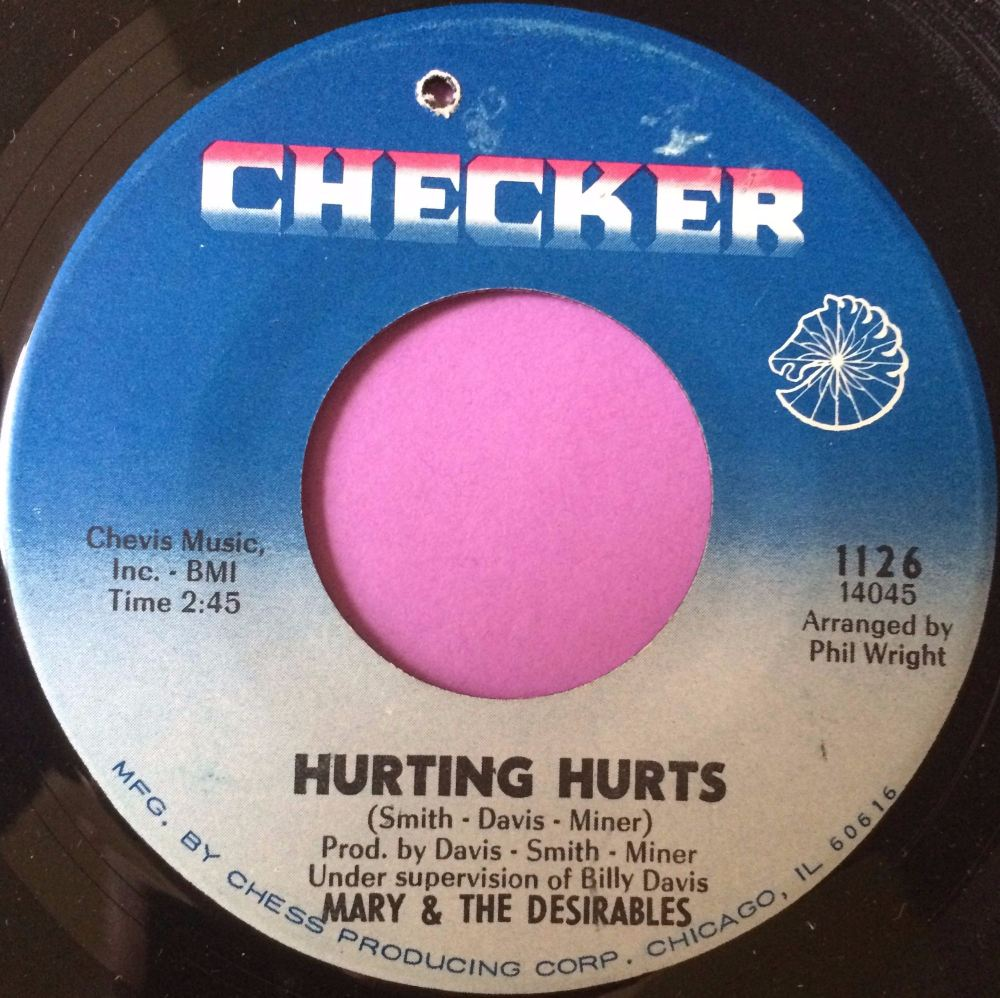 Mary and Desirables-Hurting hurts-Checker E+