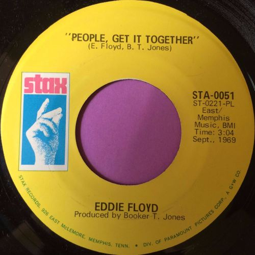Eddie Floyd-People get it together-Stax E+