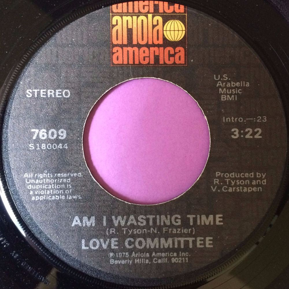 Love Committee-Am I wasting time-Ariola E+