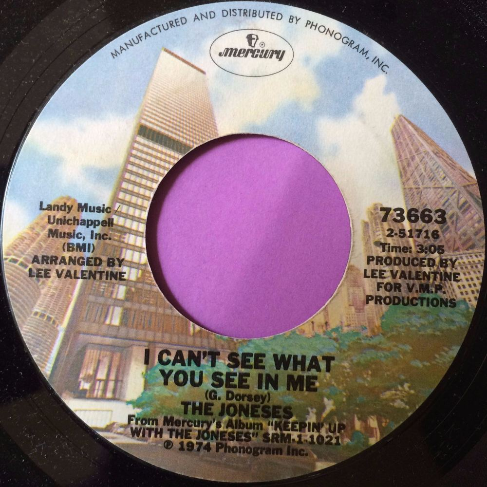 Joneses-I can`t see what you see in me-Mercury M-