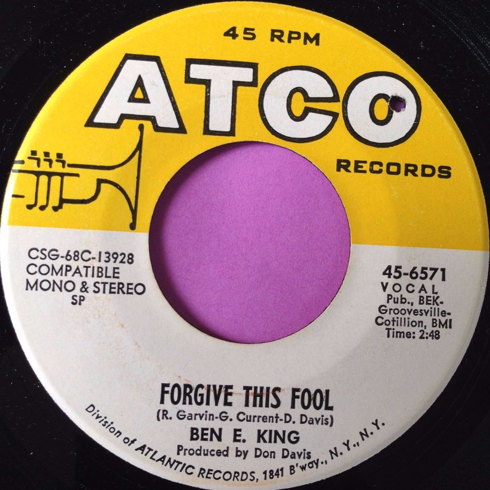 Ben E King-Forgive this fool-Atco E+