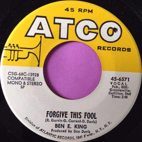 Ben E King-Forgive this fool-Atco E+