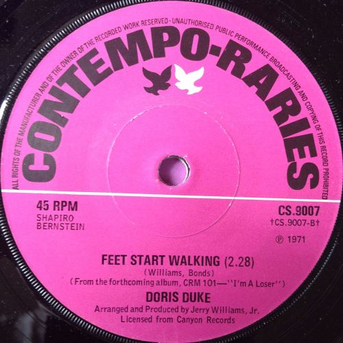 Doris Duke-Feet start walking-UK Contempo E+