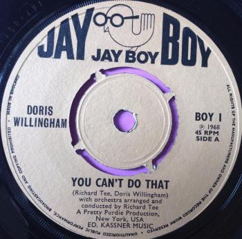 Doris Willingham-You can`t do that-UK Jayboy E+