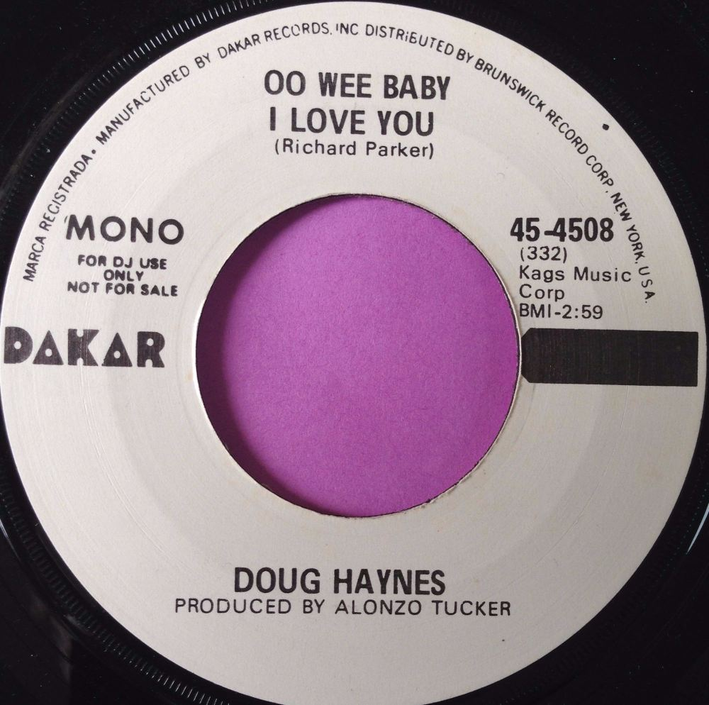 Doug Haynes-Oo wee baby I love you-Dakar WD E+
