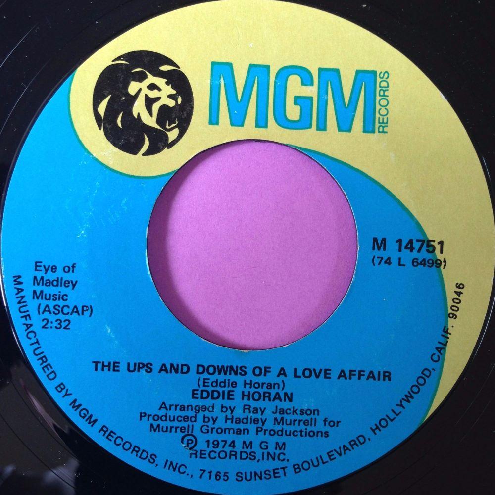 Eddie Horan-The ups and downs of a love affair-MGM  E+