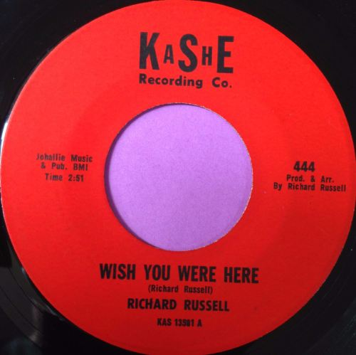 Richard Russell-Wish you were here-Kashe E+
