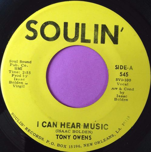 Tony Owens-I can hear music-Soulin` E+