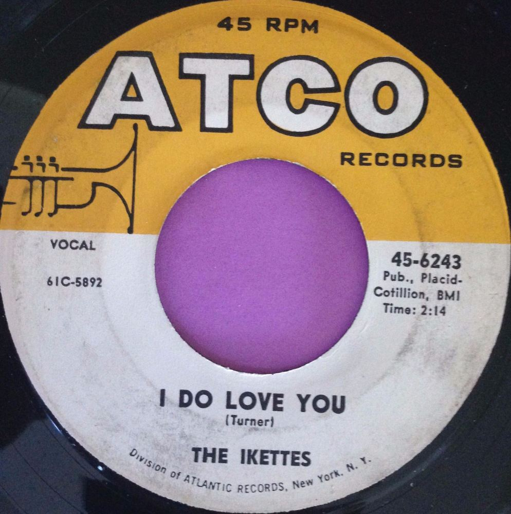 Ikettes-I do love you-Atco E+