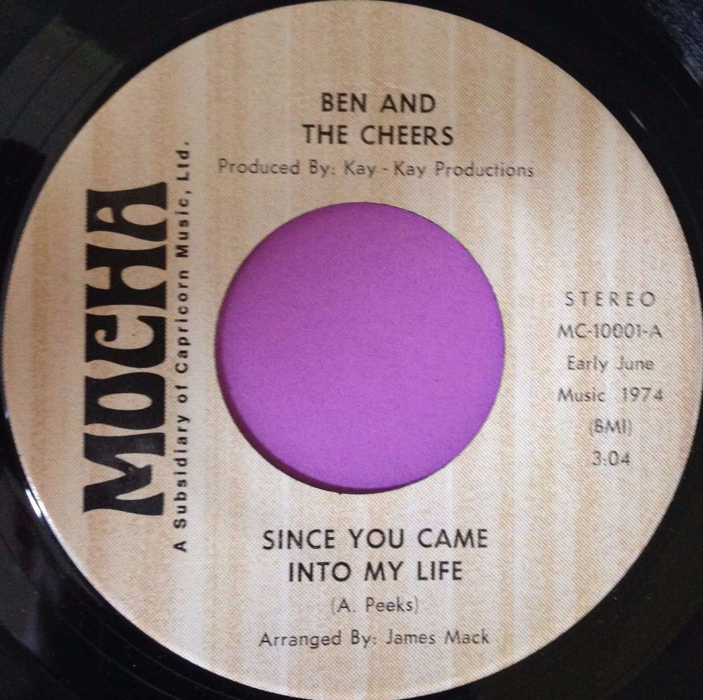 Ben and the Cheers-Since you came into my life-Mocha E+
