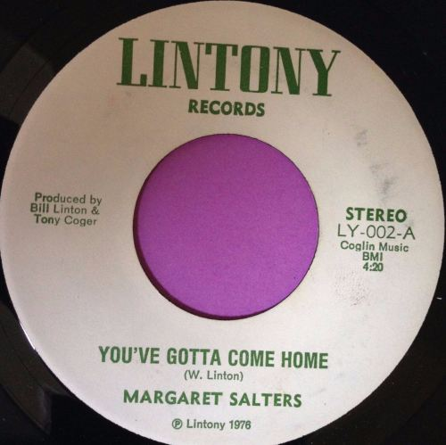 Margaret Salters-You`ve gotta come home-Lintony E+