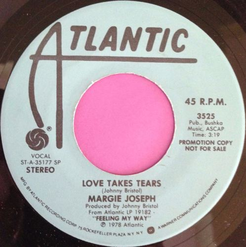 Margie Joseph-Love takes tears-Atlantic demo E+