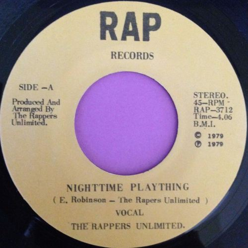 Rappers Unlimited-Nightime plaything-Rap E+