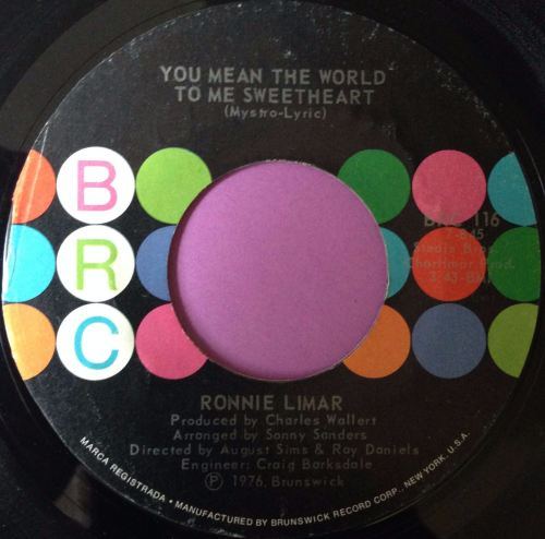 Ronnie Limar-You mean the world to me sweetheart-BRC E+