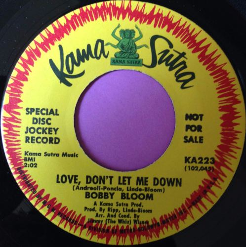 Bobby Bloom-Love don`t let me down-Kama Sutra E