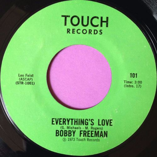 Bobby Freeman-Everything`s love-Touch E+