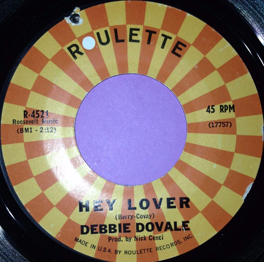 Debbie Dovale-Hey lover-Roulette E+