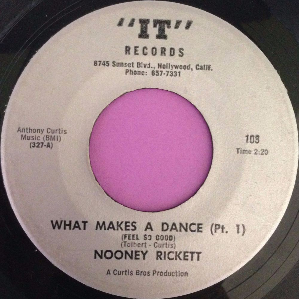 Nooney Rickett-What makes a dance- IT E