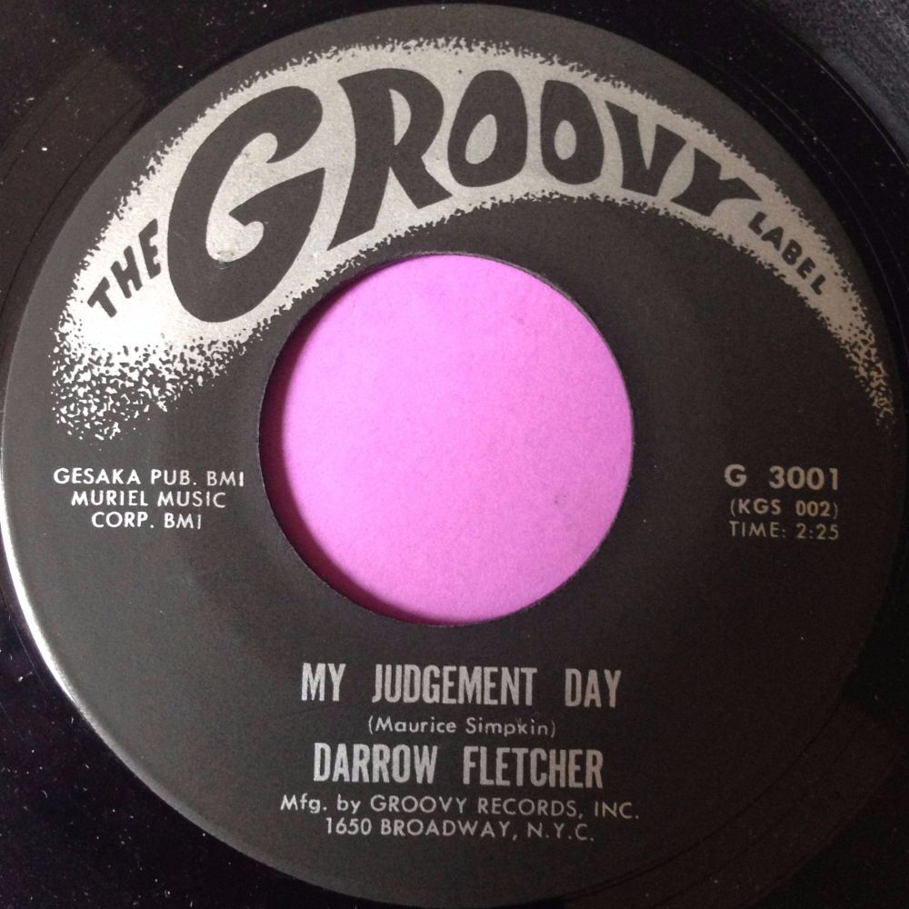 Darrow Fletcher-My judgement day-Groovy M-