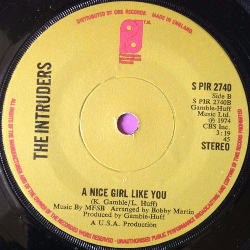 Intruders-A nice girl like you- UK TSOP E+