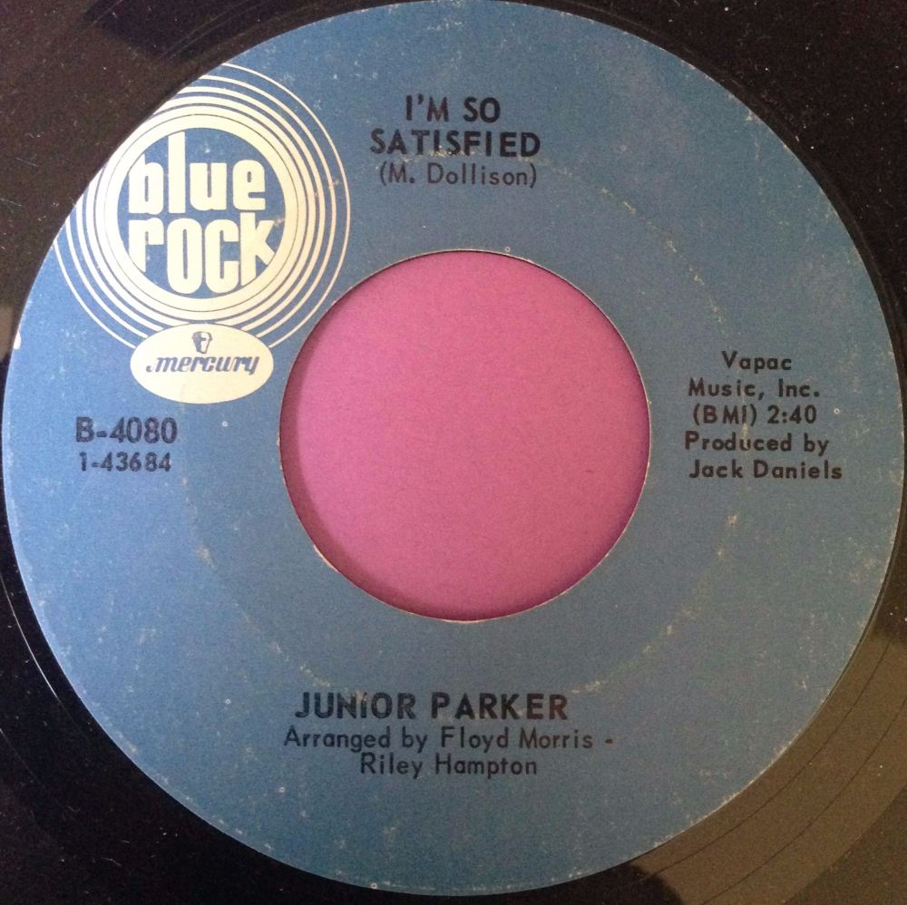 Junior Parker-I`m so satisfied-Blue rock E+