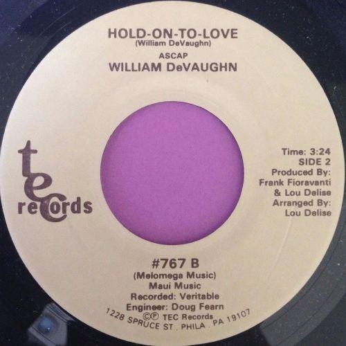 William DeVaughn-Hold on to love-Tec M